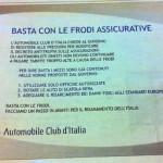 Campagna ACI contro Frodi Assicurazione Auto