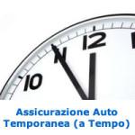 Assicurazione Auto Temporanea a Tempo