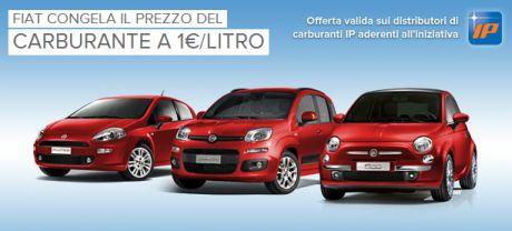 Campagna Fiat blocca il prezzo del carburante IP