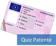 Quiz ministeriali della patente B assicurazione auto RCA