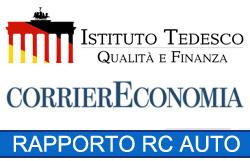 Rapporto RC Auto in Italia di Corriere Economia e Istituto Tedesco Qualità e Finanza