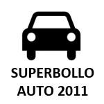 Superbollo 2011 auto e suv